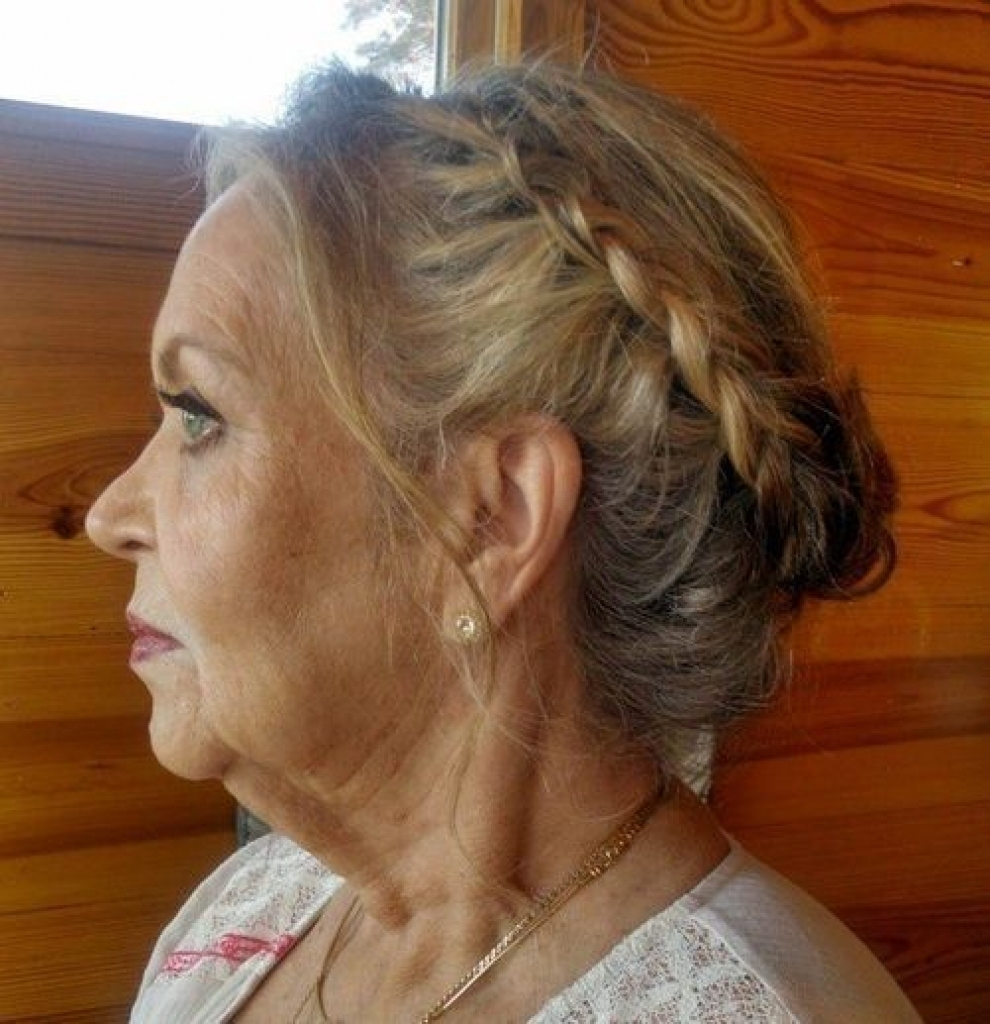 Hairstyles For Older Womenupdos 40 Stylish Long Hairstyles For Older For Updo Hairstyles For Older Women (View 6 of 15)