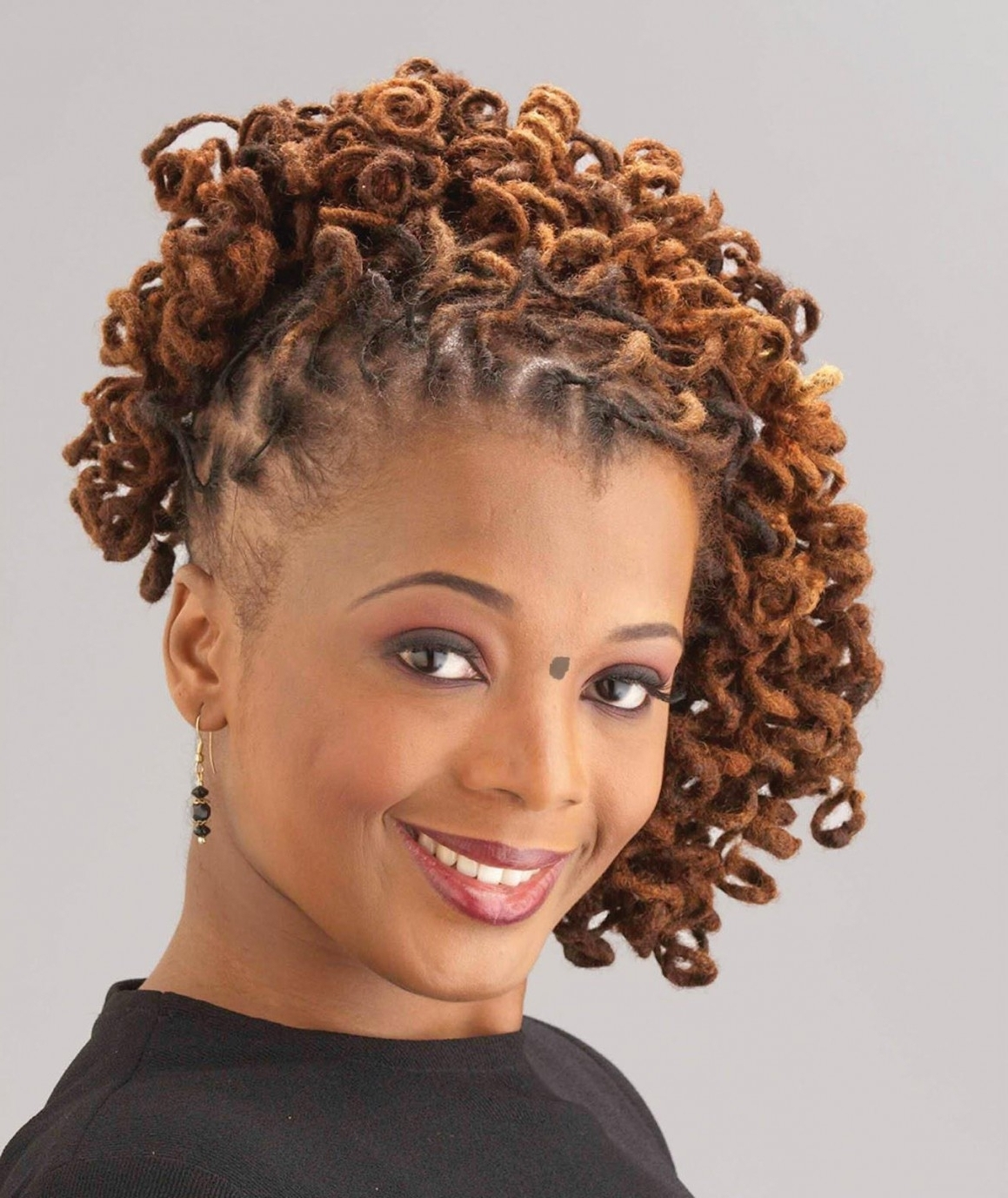 Hairstyles For Short Naturally Curly Hair 2017 Within Natural Curly Pertaining To Naturally Curly Hair Updo Hairstyles (View 5 of 15)