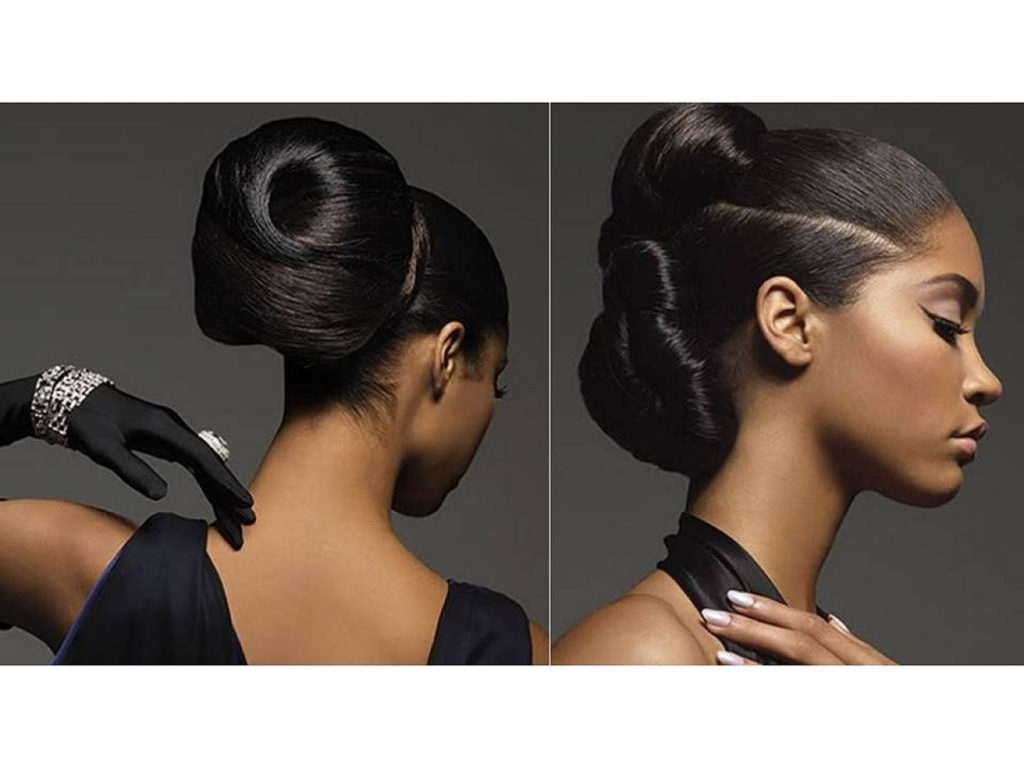 Hairstyles ~ Good Black Updo Hairstyles For Long Hair 18 Ideas With Inside Black Updo Hairstyles For Long Hair (View 12 of 15)
