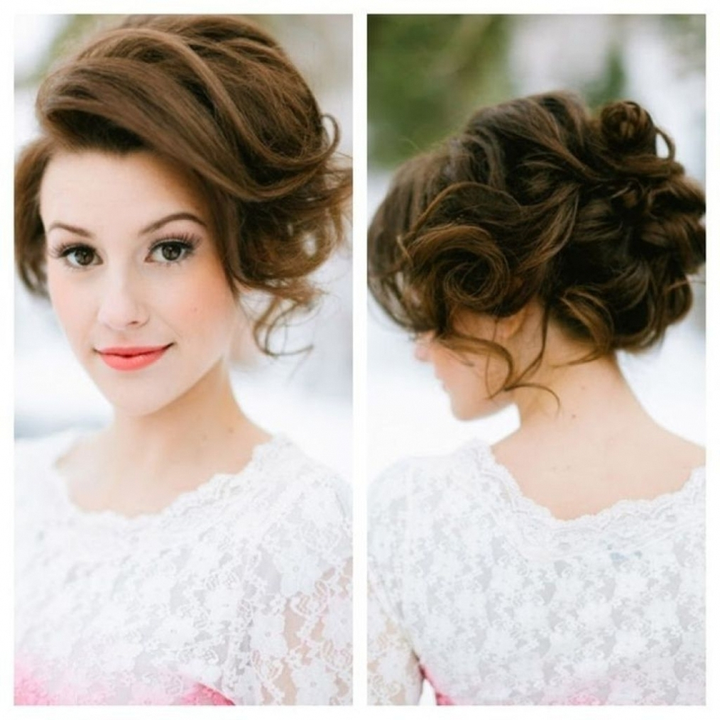 Hairstyles ~ Loose Updo Hairstyles Latest Hairstyle Trendy Loose Inside Loose Updos For Long Hair (View 8 of 15)