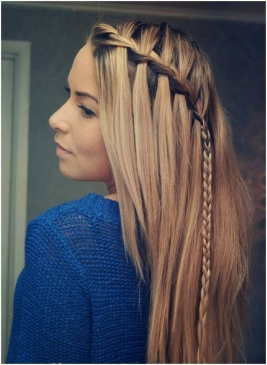 Hairstyles ~ Prom Hairstyles Straight Hair Easy Hairstyles Long For Straight Hair Updo Hairstyles (View 3 of 15)