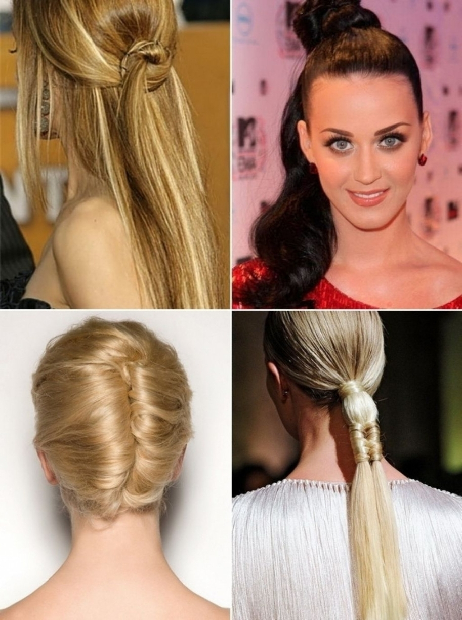 Hairstyles ~ Prom Hairstyles Straight Hair Prom Updo Hairstyles Within Straight Hair Updo Hairstyles (View 4 of 15)