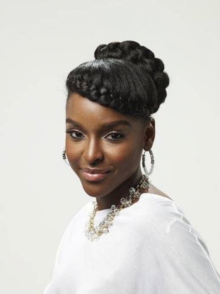 Hairstyles Updos African American 1000+ Images About Black Natural In Updos For African American Natural Hair (View 10 of 15)