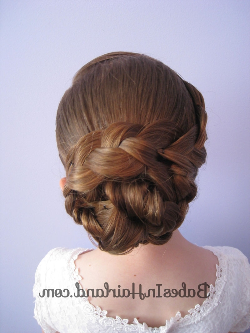 Hairstyles Updos Braid Knotted Bun Updo Babes In Hairland Regarding Knot Updo Hairstyles (View 11 of 15)