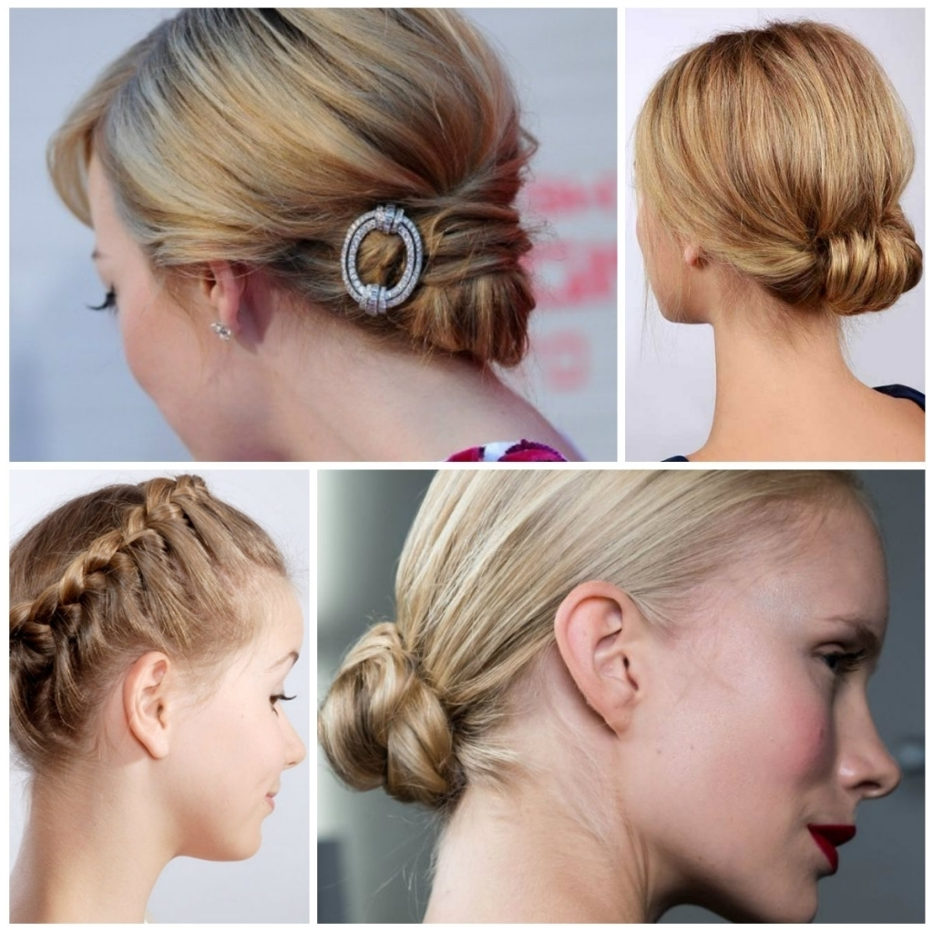 Hairstyles Updos For Short Hair 2016 Elegant Updo Hairstyles For In Updo Hairstyles For Short Hair (View 5 of 15)