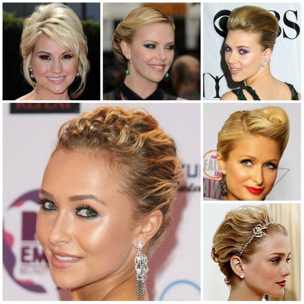 Hairstyles Updos For Short Hair Elegant Updo Hairstyles For Short With Elegant Updo Hairstyles For Short Hair (View 13 of 15)