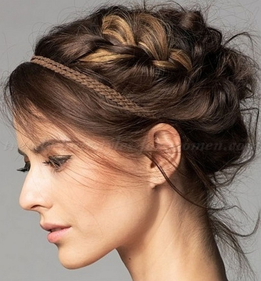 Hairstyles Updos Top Trendy Braided Updo Hairstyle Ideas Latest With Regard To Trendy Updo Hairstyles For Long Hair (View 9 of 15)