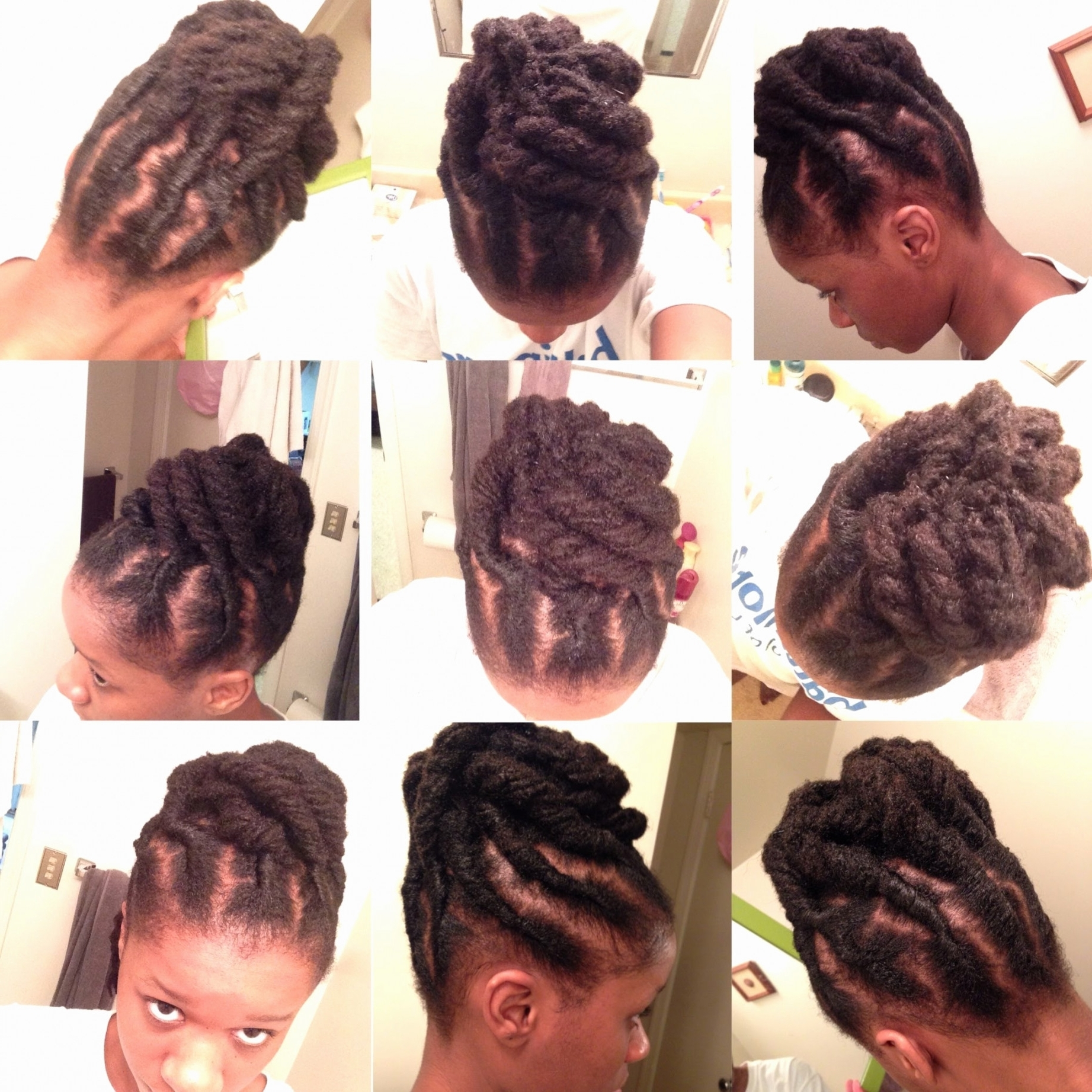 Hairstyles With Dreads For Men Elegant Quick Updo For Short Locs Intended For Updo Locs Hairstyles (View 7 of 15)