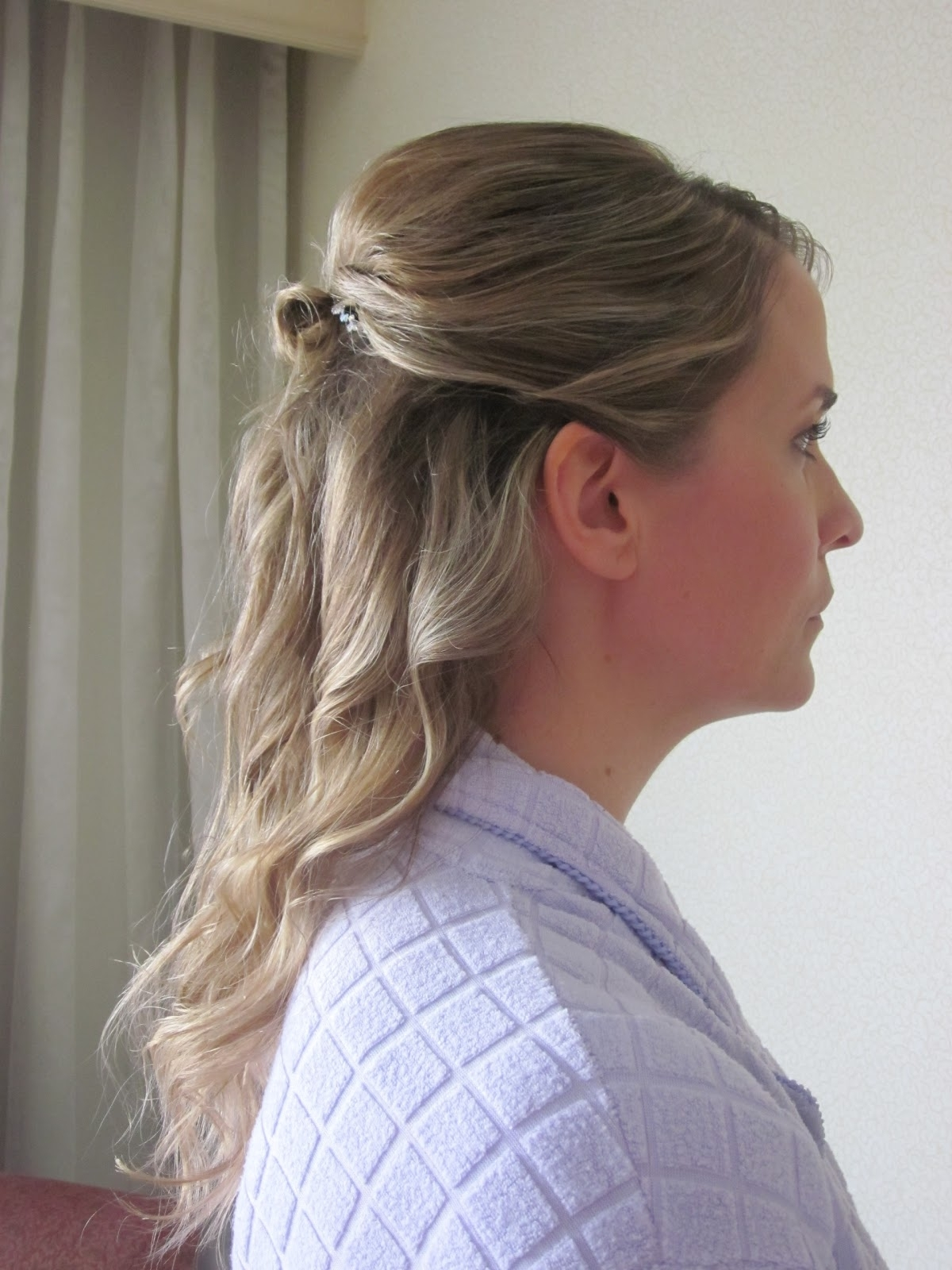 Photo Gallery Of Half Updo Hairstyles For Mother Of The Bride
