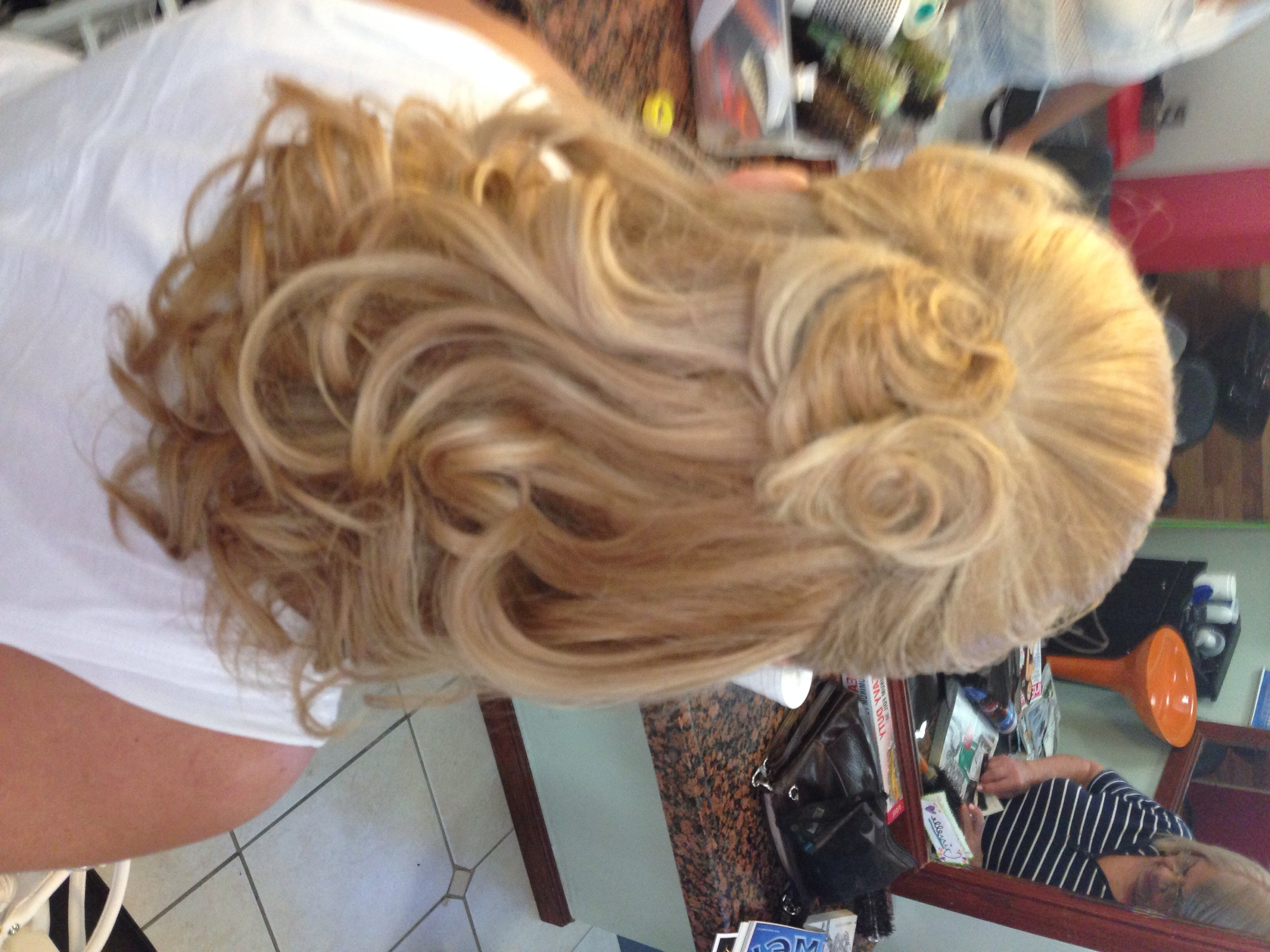 Half Updo For The Mother Of The Bride | Hair | Pinterest | Half Updo In Half Updos For Mother Of The Bride (View 4 of 15)