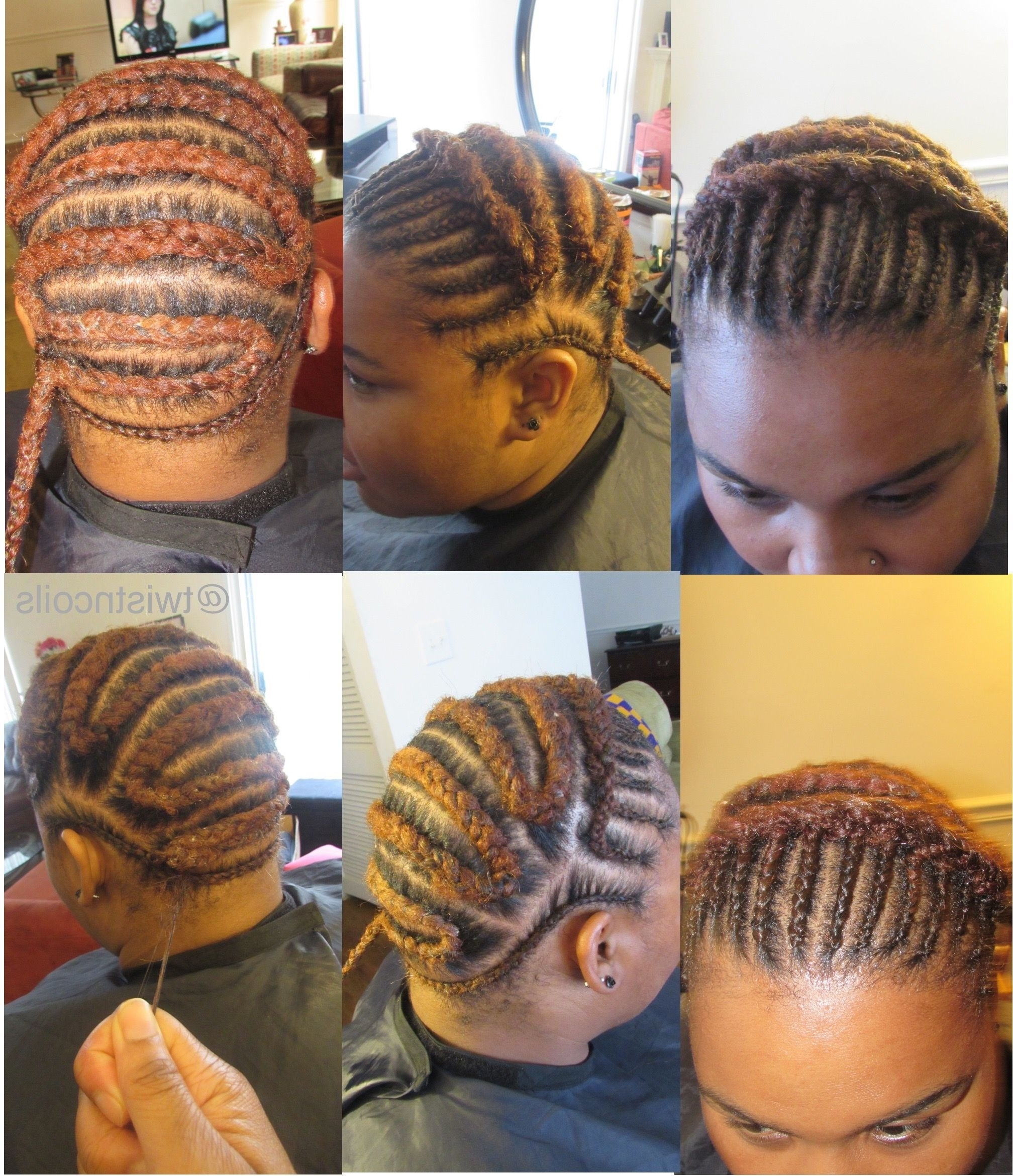 Here's How You Can Install Super Long Goddess Faux Locs On Any Hair With Regard To Crochet Braid Pattern For Updo Hairstyles (View 9 of 15)