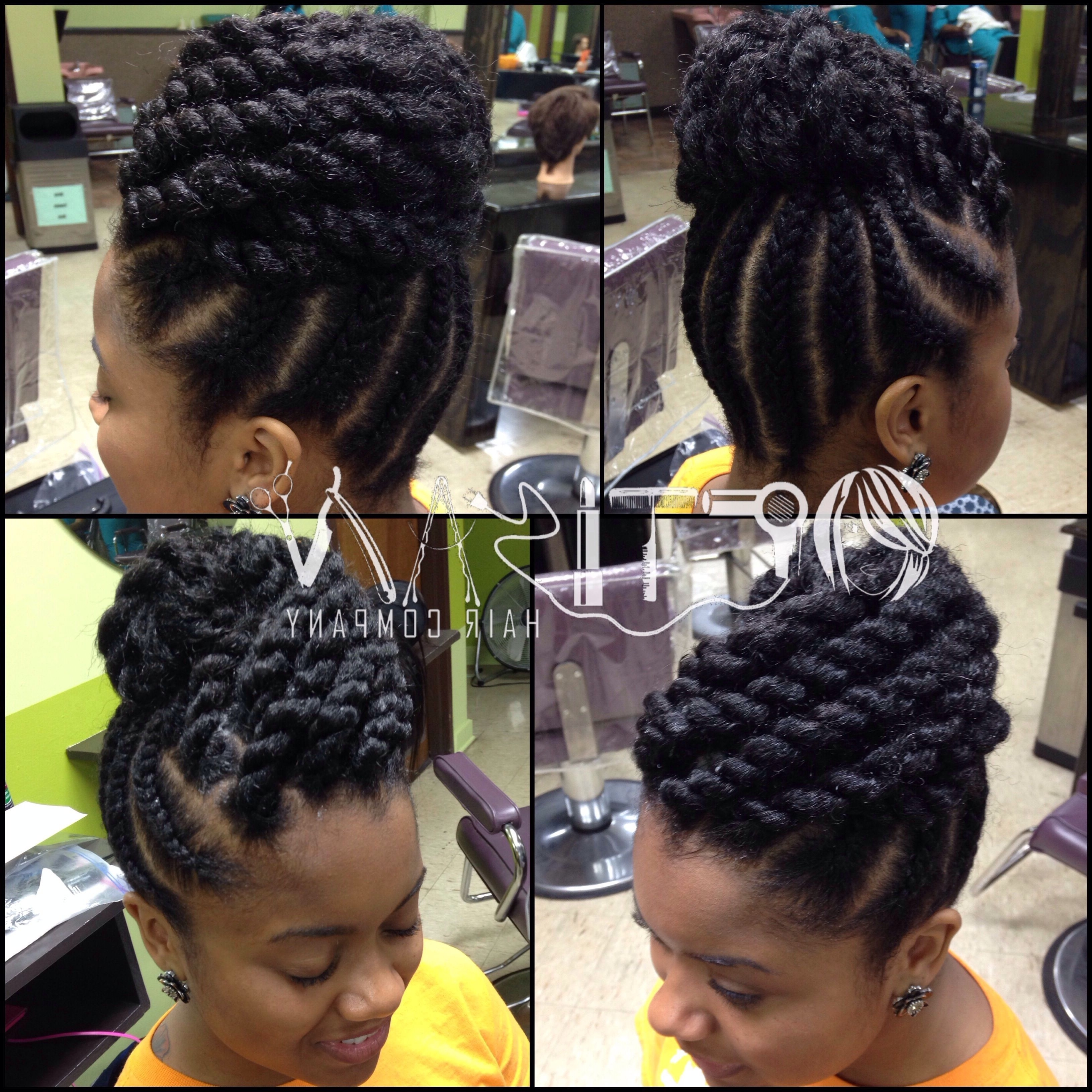 How Can Anyone Dislike Natural Hair When We Have So Many Options Regarding Natural Updo Hairstyles With Braids (View 13 of 15)