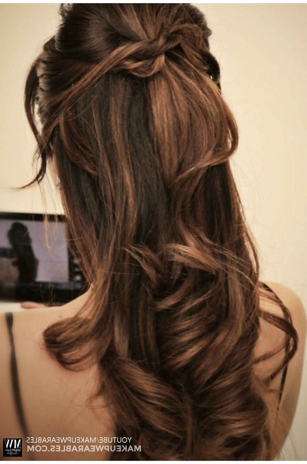 How To: 5 Amazingly Cute + Easy Hairstyles With A Simple Twist For Diy Half Updo Hairstyles For Long Hair (View 14 of 15)