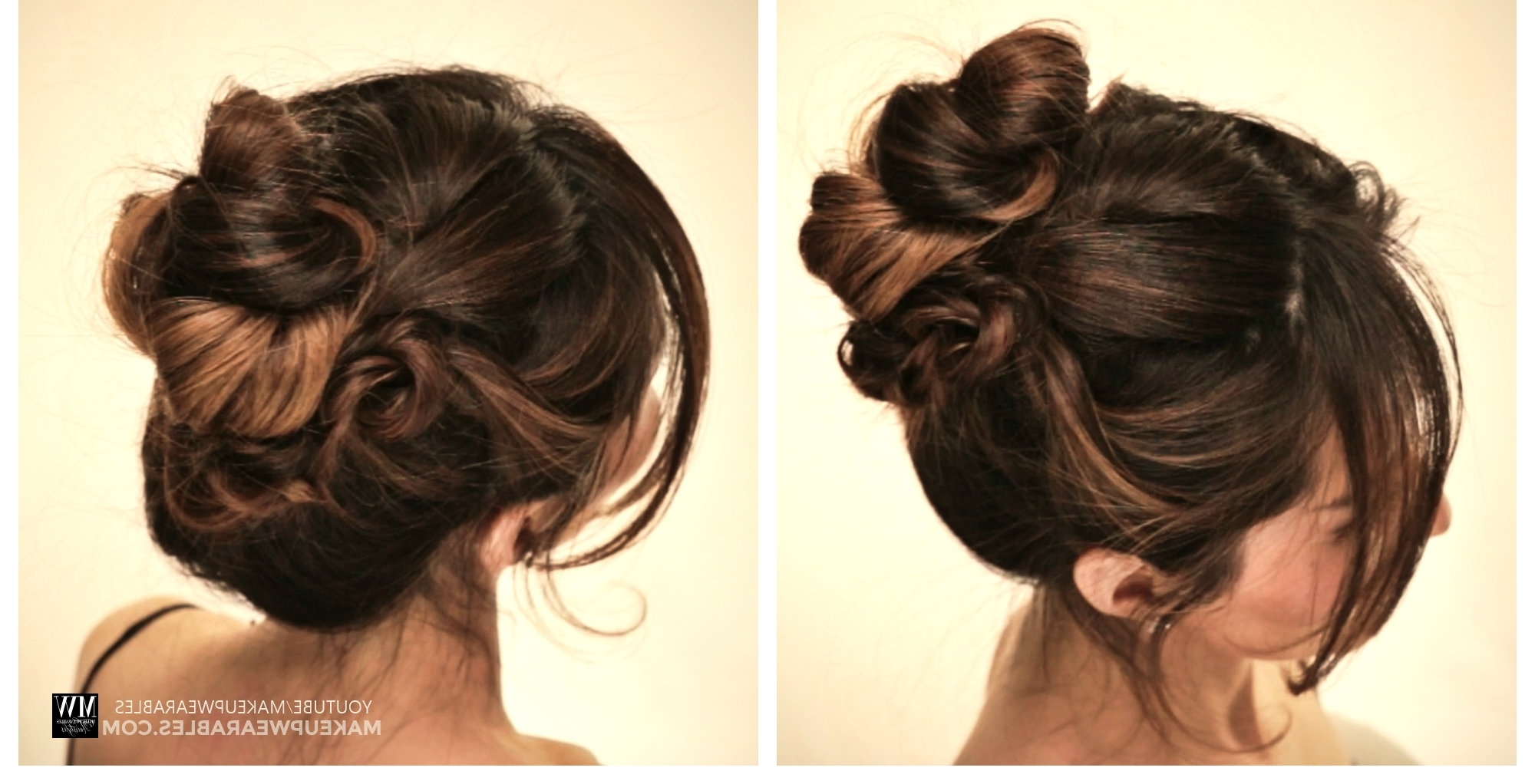 How To: 5 Amazingly Cute + Easy Hairstyles With A Simple Twist Within Quick Updo Hairstyles (View 11 of 15)
