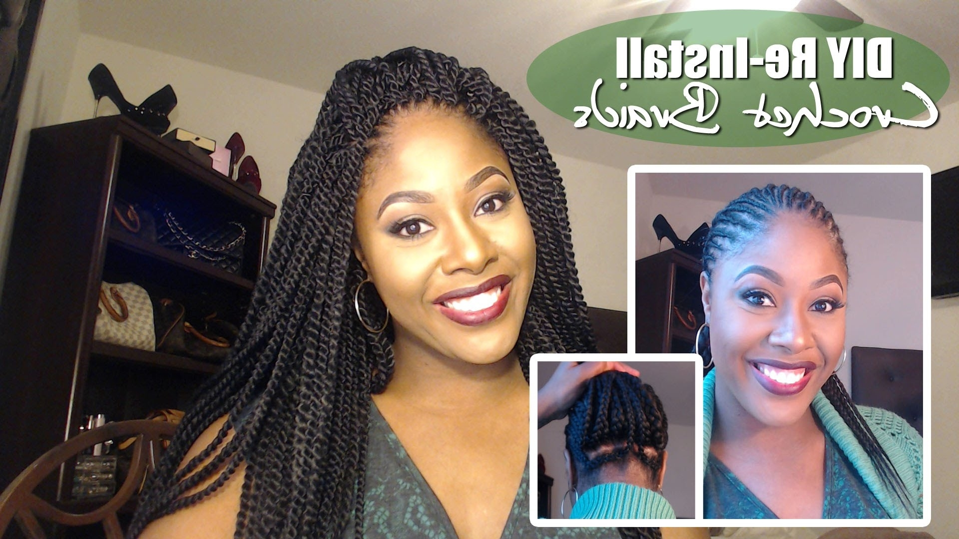 How To Diy: Crochet Braids Re Install Braid Pattern Explained: Under With Regard To Crochet Braid Pattern For Updo Hairstyles (View 12 of 15)