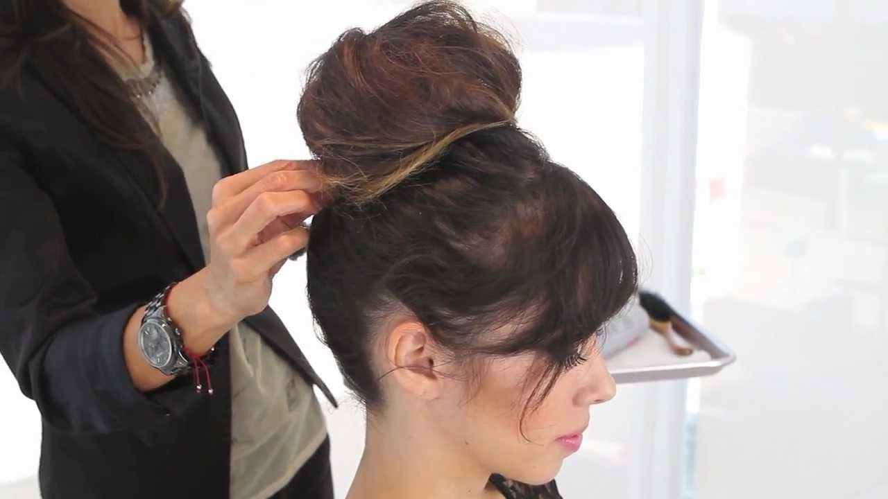How To Do A Quick And Easy Updo For Parties – Youtube Intended For Quick And Easy Updo Hairstyles (View 9 of 15)