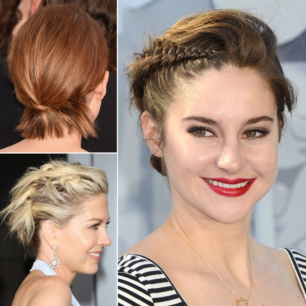 How To Do Updos For Short Hair And Bobs | Popsugar Beauty Uk Throughout Updo Hairstyles For Bob Hairstyles (View 2 of 15)