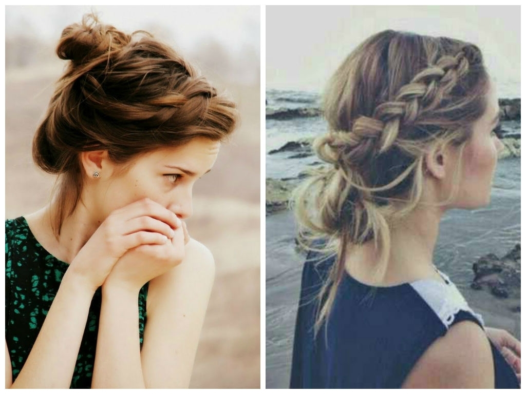 Featured Photo of Loose Bun Updo Hairstyles