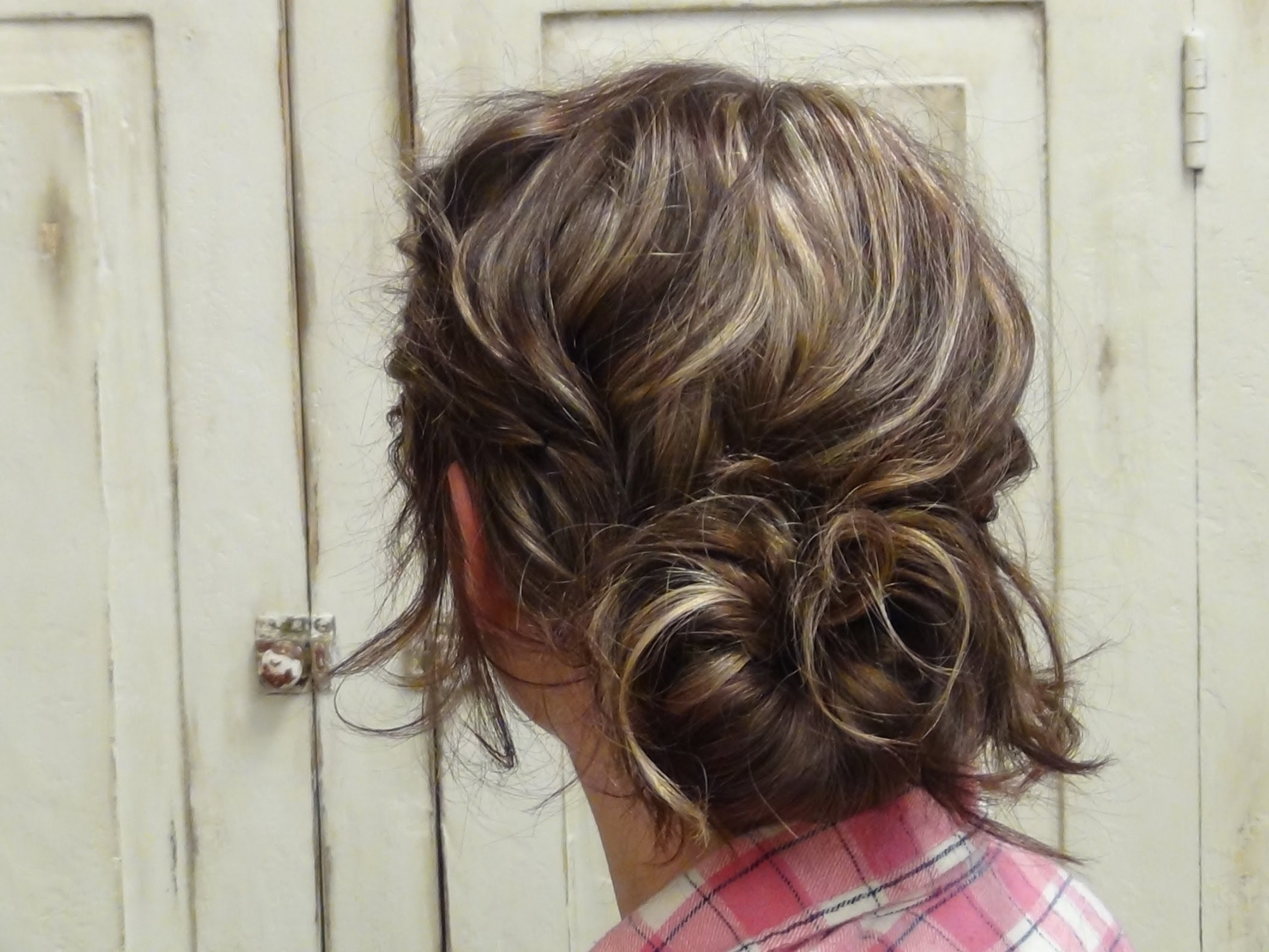How To Style Cute Low Messy Bun Updo Hairstyles – Youtube | Latest In Messy Bun Updo Hairstyles (View 6 of 15)