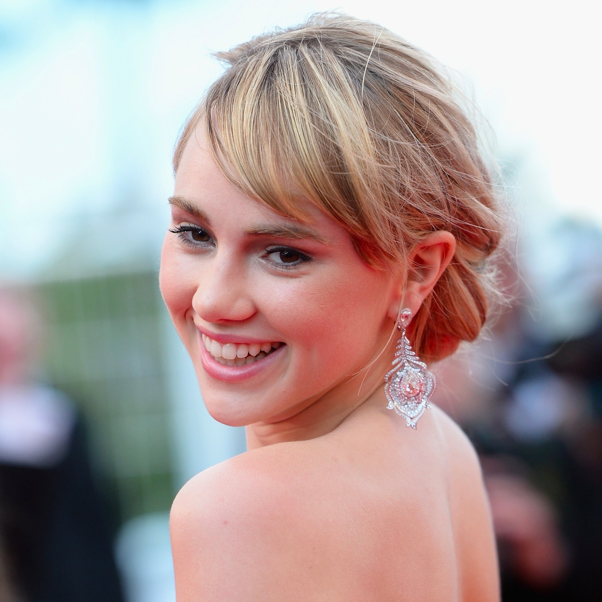 How To Wear Hair Up With A Fringe | Popsugar Beauty Uk Inside Updos For Long Hair With Bangs (View 12 of 15)