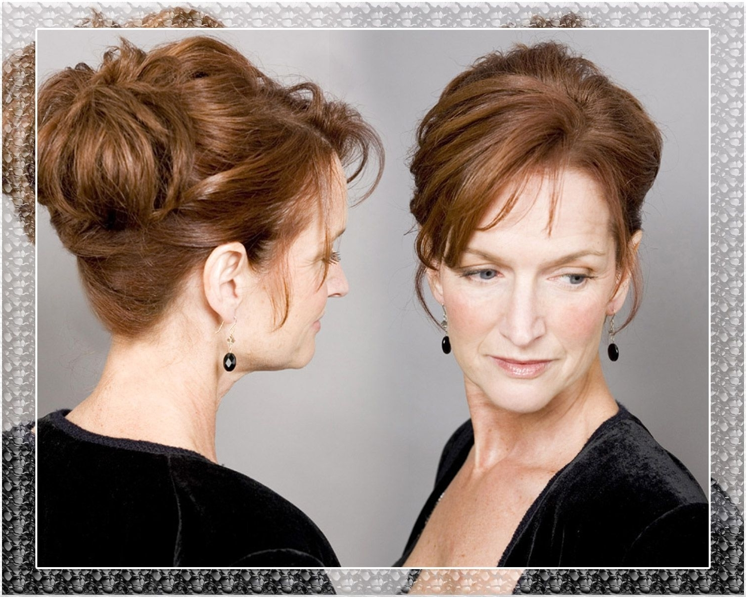 Image Result For Updos For Mother Of The Bride Medium Length Hair Intended For Updo Hairstyles For Mother Of The Bride (View 5 of 15)