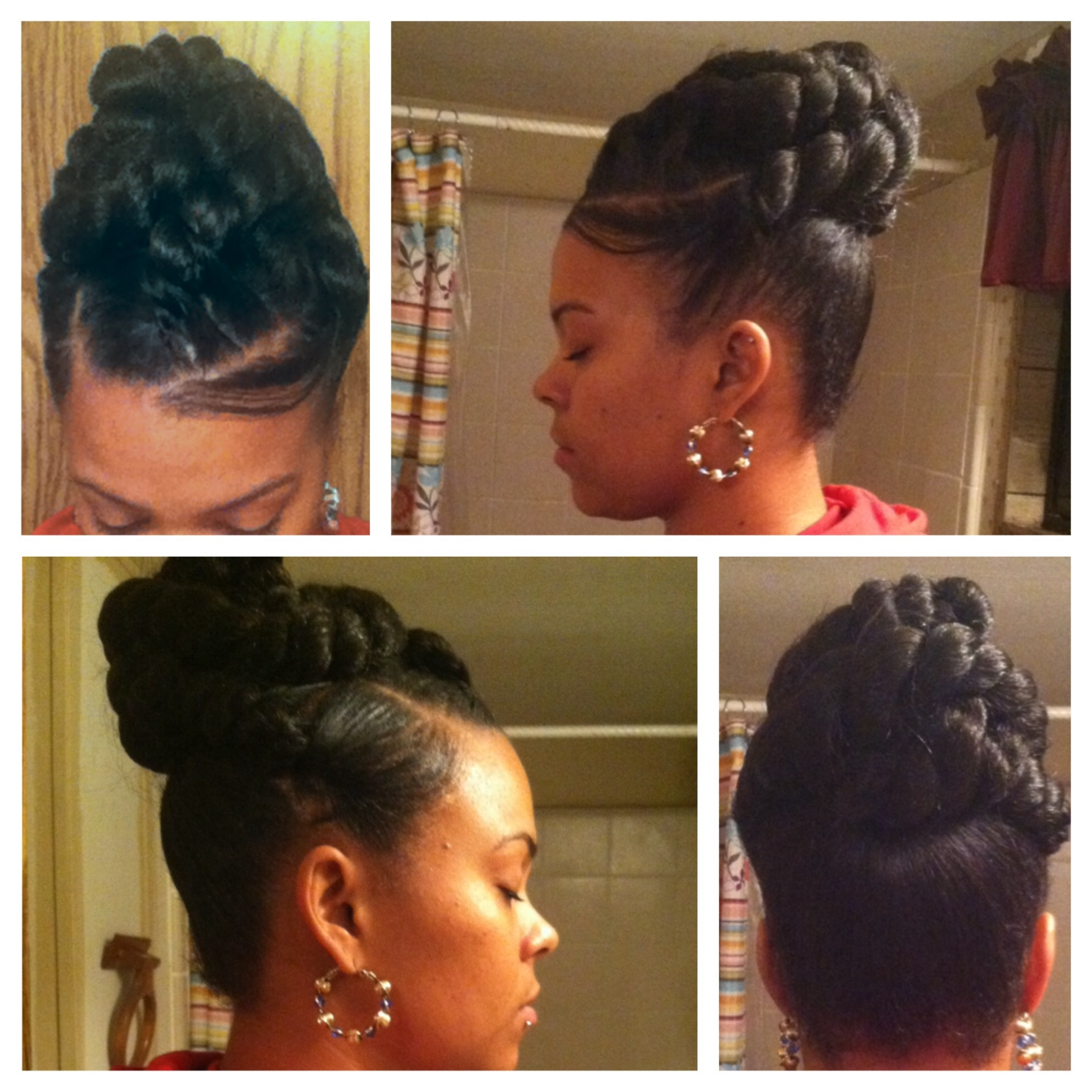 Jumbo Twist Updo | Hair | Pinterest | Updo, Protective Styles And Throughout Jumbo Twist Updo Hairstyles (View 11 of 15)