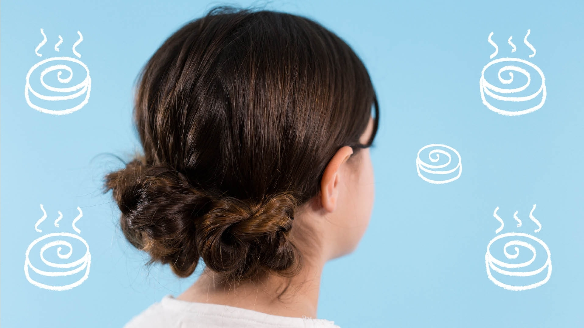 Kids' Hair: How To Do A Twisted Bun Updo – Video Today's Parent Intended For Twisted Bun Updo Hairstyles (Gallery 15 of 15)