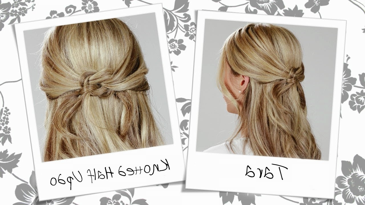 Photo Gallery Of Knot Updo Hairstyles Viewing 10 Of 15 Photos