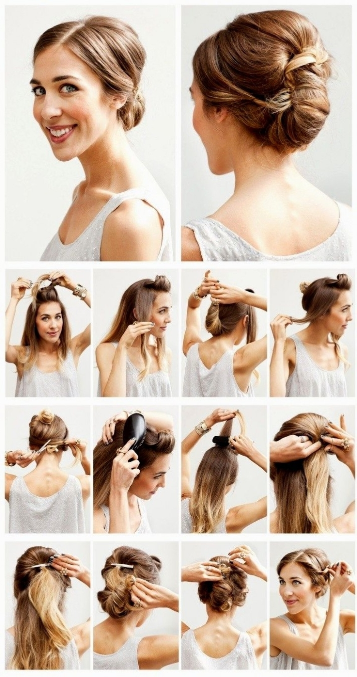 Featured Photo of Easy Updos For Thick Medium Length Hair