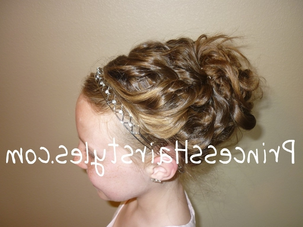 Little Girls Updo Hairstyles 1000 Images About Dance Recital Hair Within Little Girl Updo Hairstyles (View 8 of 15)