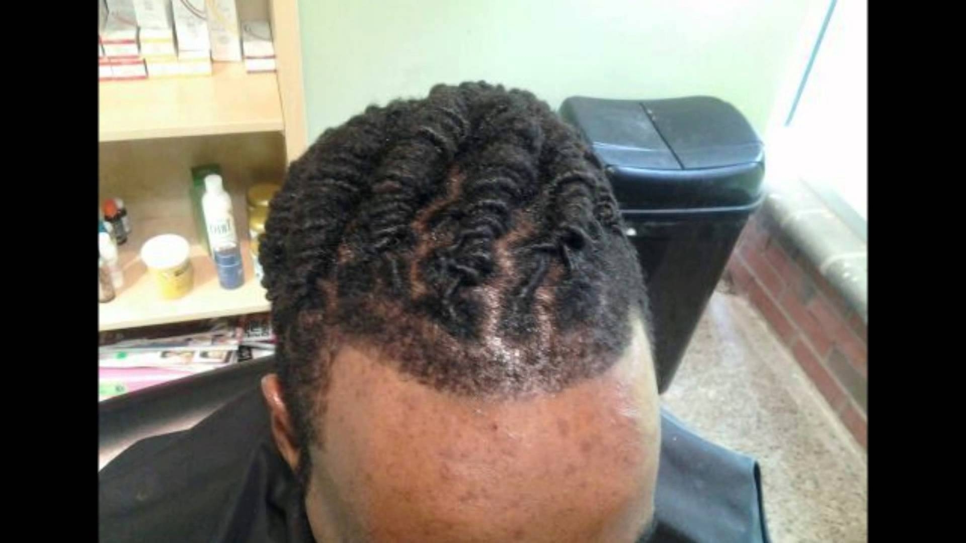 Loc Retwist & Updo Styles For Men – Youtube For Updo Dread Hairstyles (View 11 of 15)
