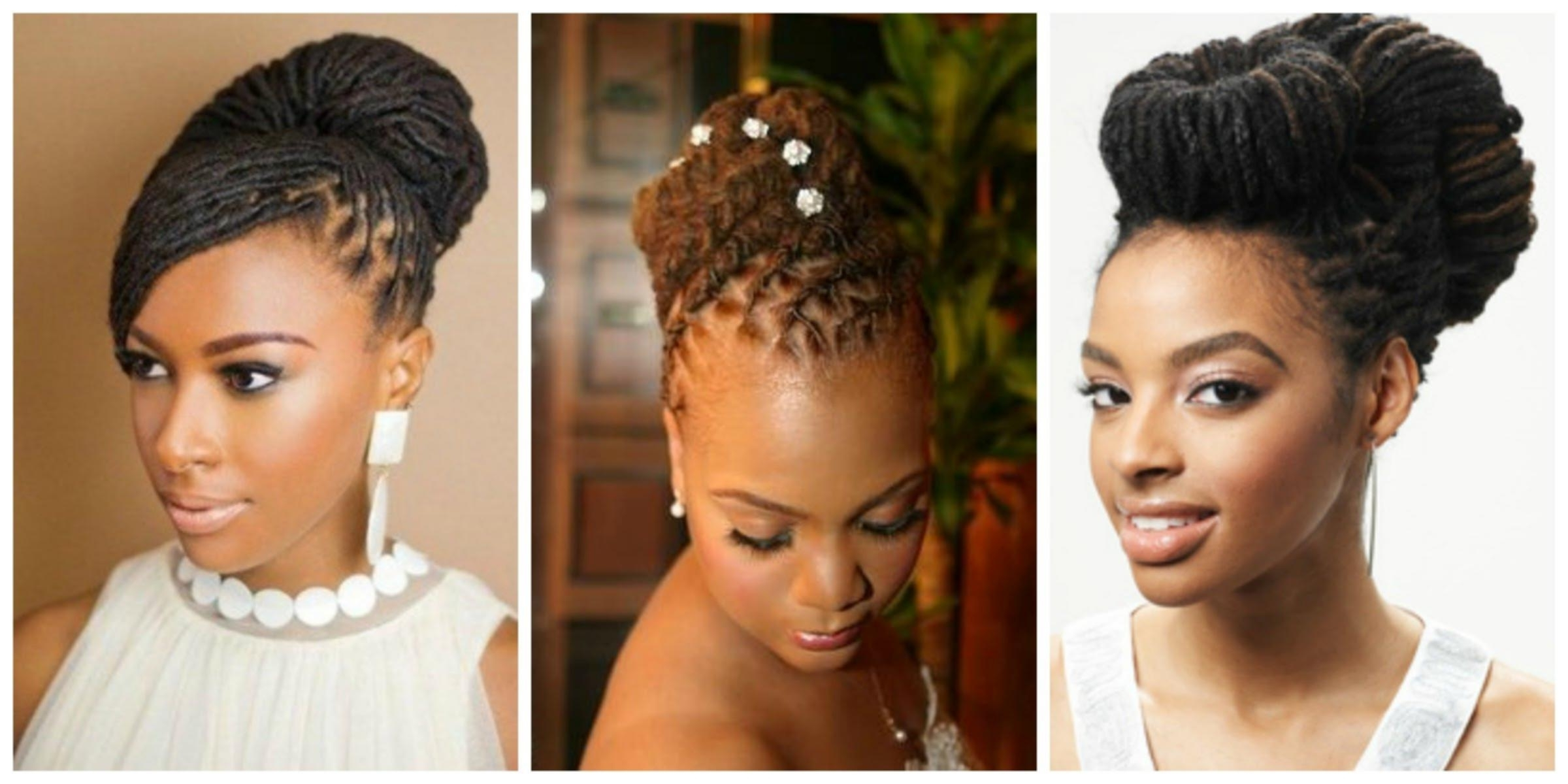 Loc Updo Hairstyles – Cute Hairstyles Diy Within Loc Updo Hairstyles (View 10 of 15)