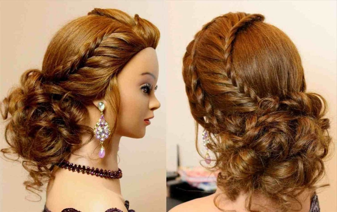Long Hair Cute Hairstyle Girl For Party Easy Hairstyles | Latest With Cute Updos For Long Hair (View 12 of 15)