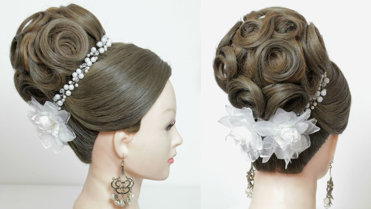Long Hairstyles : Bridal Hairstyles For Long Hair Updo Photos With Wedding Hairstyles For Long Hair Updo (View 14 of 15)