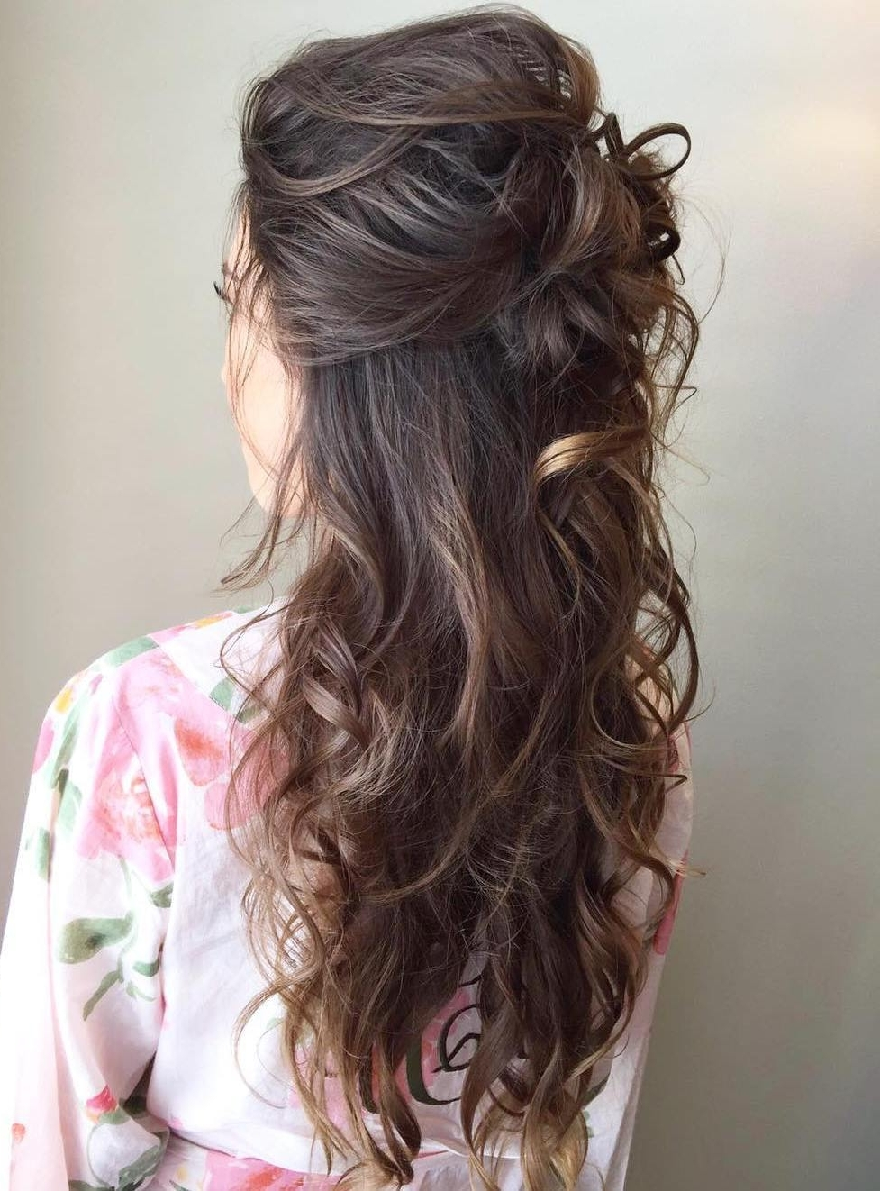 Long Half Updo Hairstyles – Best Hair Style With Half Updos For Long Hair (View 9 of 15)