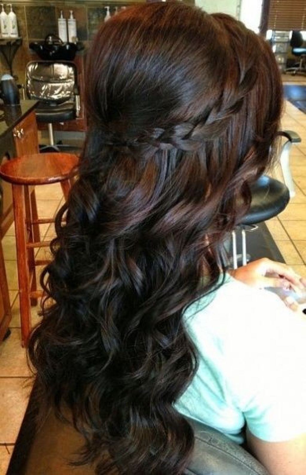 Loose Curls For Medium Length Hairstyles – Hairstyle For Women & Man With Regard To Loose Updos For Curly Hair (View 7 of 15)