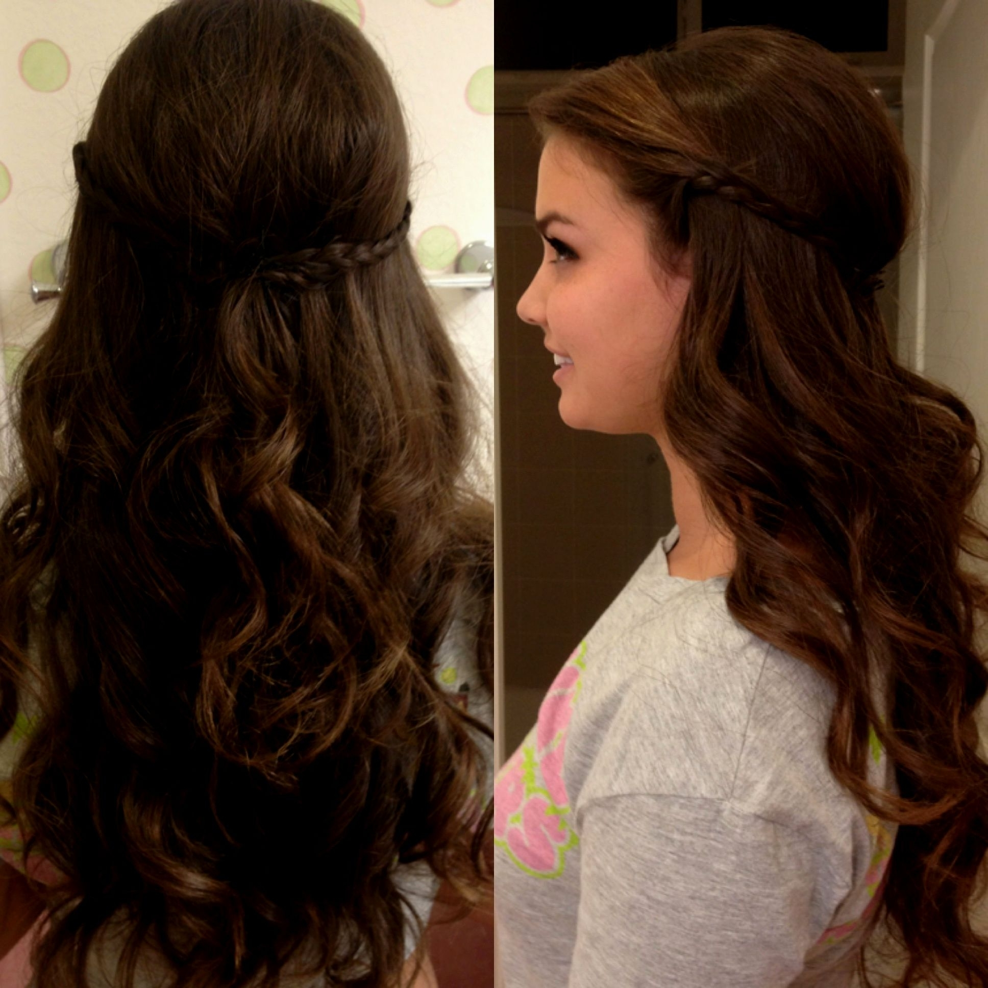 Loose Curly Hairstyles For Prom – Hairstyle Pop With Regard To Loose Updos For Curly Hair (View 8 of 15)