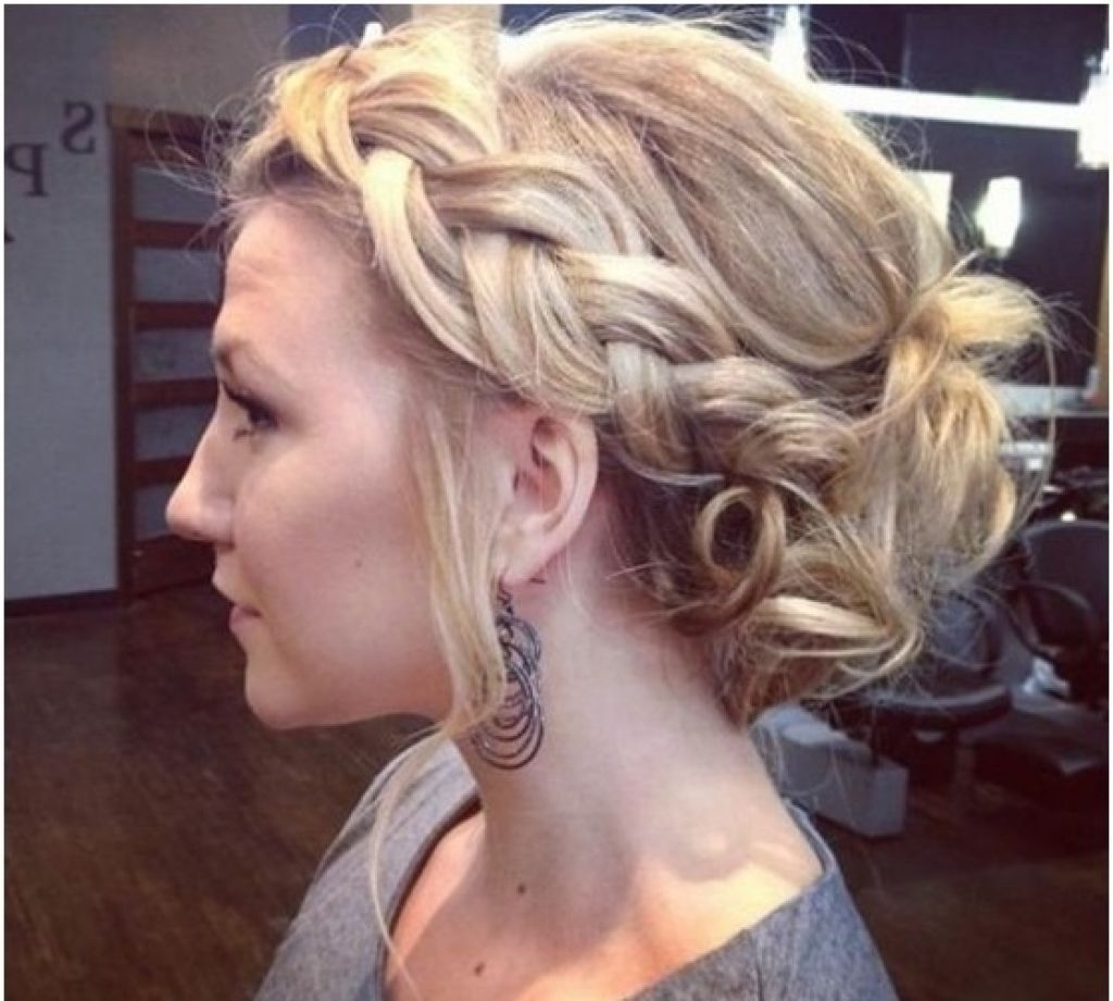 Loose Updo For Long Hair Tag Loose Wavy Updo Hairstyles Archives Within Loose Updos For Curly Hair (View 10 of 15)
