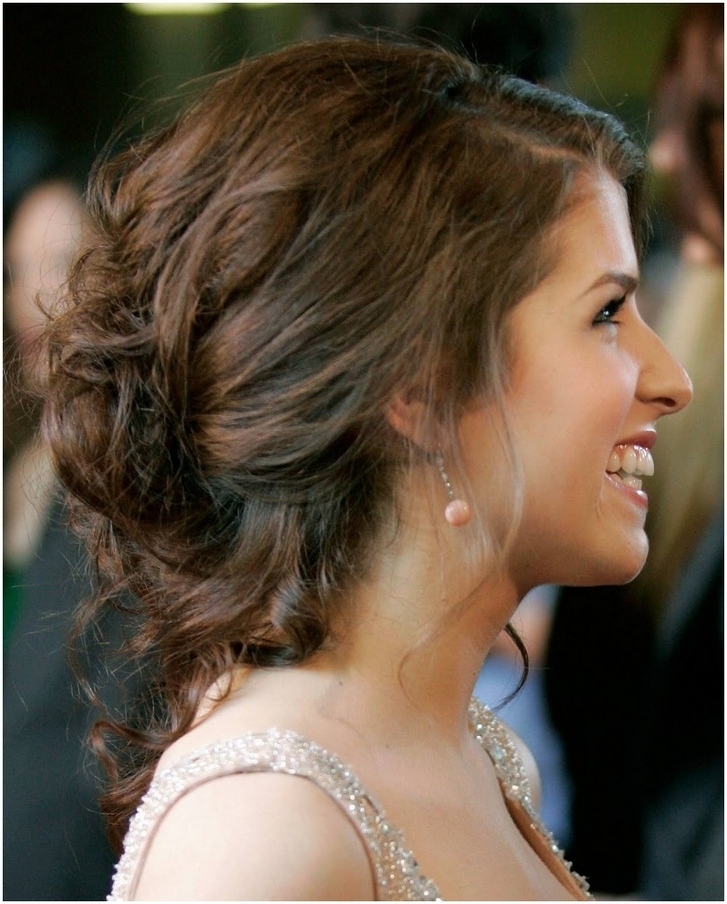 Loose Updo Hairstyles For Long Hair Loose Curly Updo Wedding With Loose Curly Updo Hairstyles (View 13 of 15)