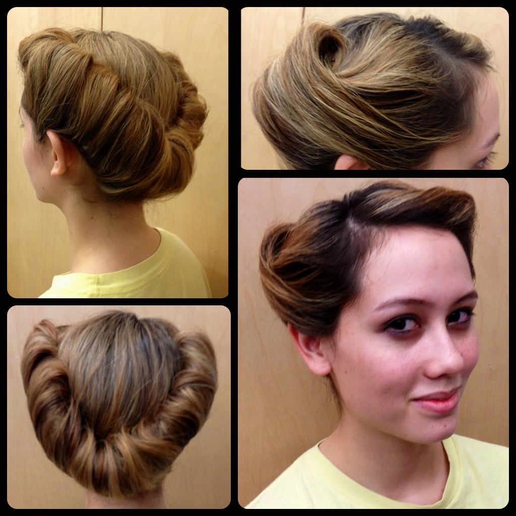 Love This Vintage Hairstyle (View 12 of 15)