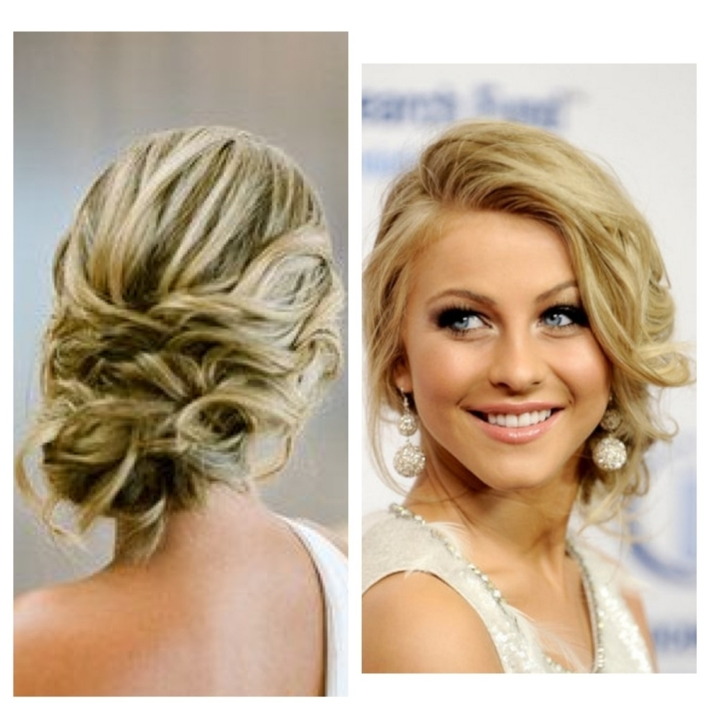 Low Bun Prom Hairstyle – Popular Long Hairstyle Idea For Side Bun Updo Hairstyles (View 10 of 15)