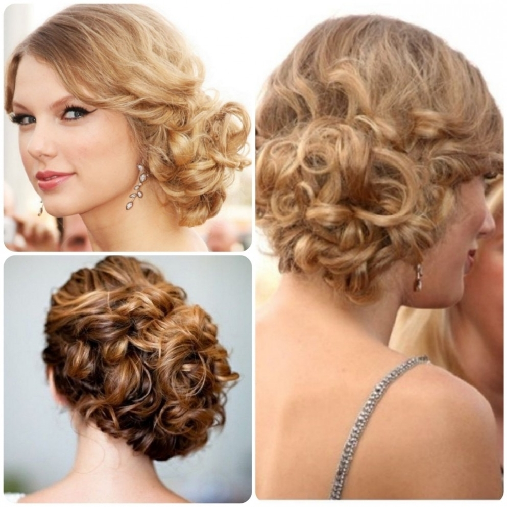 Low Curly Bun Updo Updo Side Bun Hairstyles Black Hair Collection Regarding Side Bun Updo Hairstyles (Gallery 11 of 15)