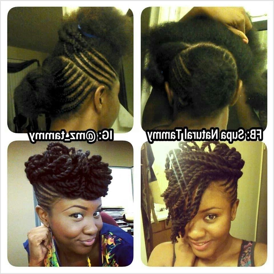Marley Twist Updo | Hair | Pinterest | Marley Twists Updo, Marley With Marley Twist Updo Hairstyles (View 9 of 15)