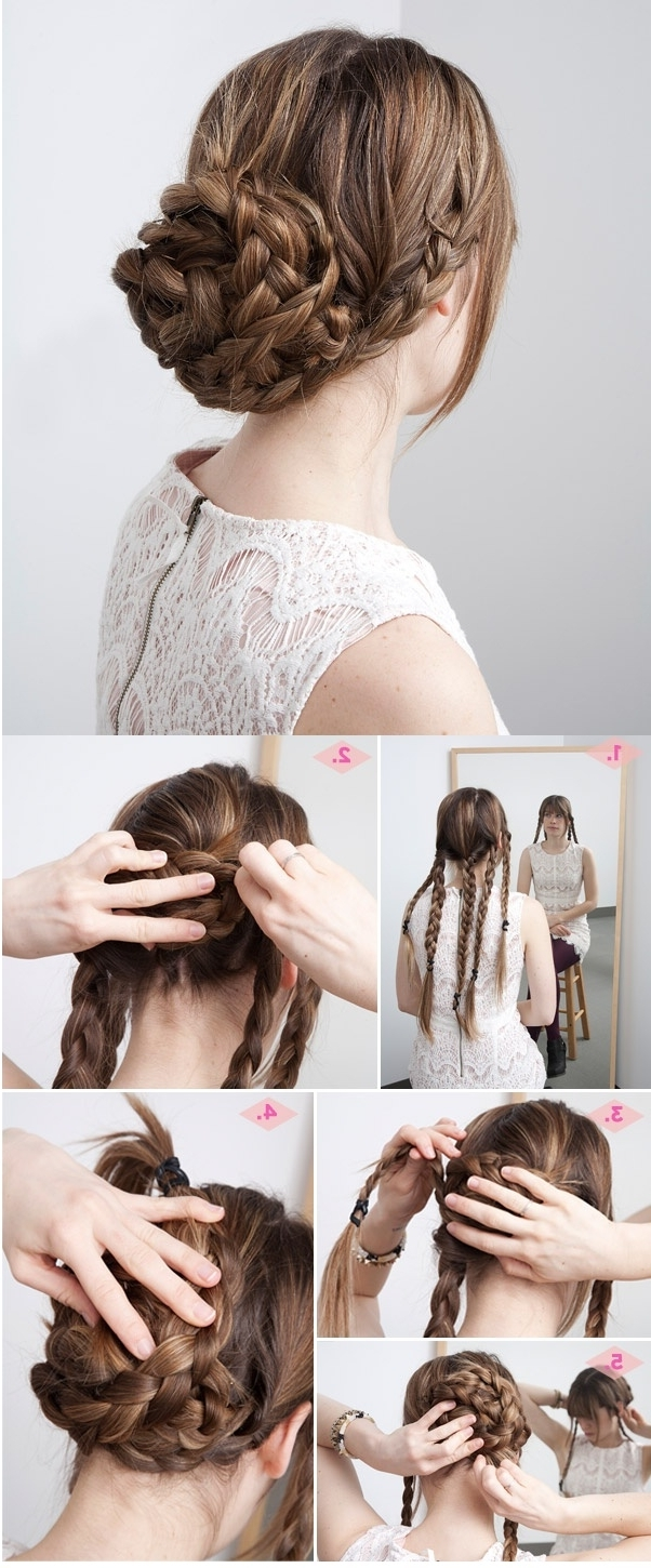 Medium Length Hairstyle Prom Hairstyleupdo Impressive Hairstyles For Within Easy Updos For Thick Medium Length Hair (View 14 of 15)