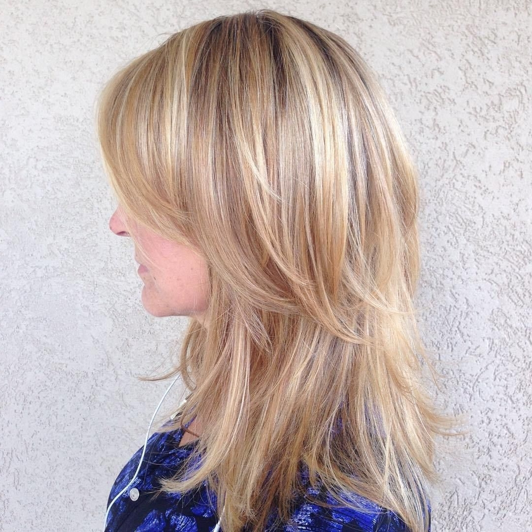 Medium Length Layered Hairstyles For Thin Hair | It's All About The Intended For Updos For Medium Length Thin Hair (View 2 of 15)