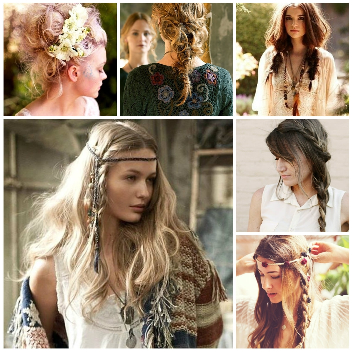 Messy Bohemian Hairstyles | New Haircuts To Try For 2018, Hairstyles Regarding Boho Updos For Long Hair (View 13 of 15)