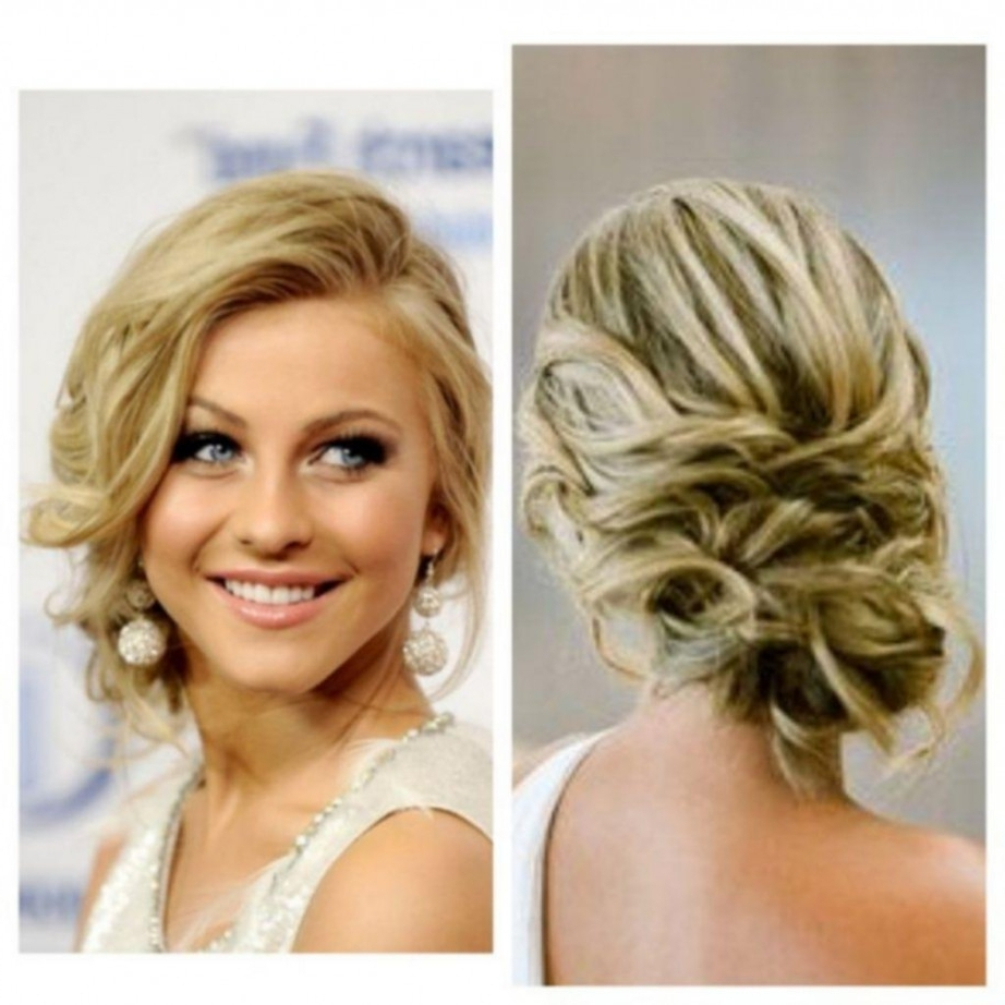 Photo Gallery Of Low Bun Updo Hairstyles Viewing 10 Of 15 Photos
