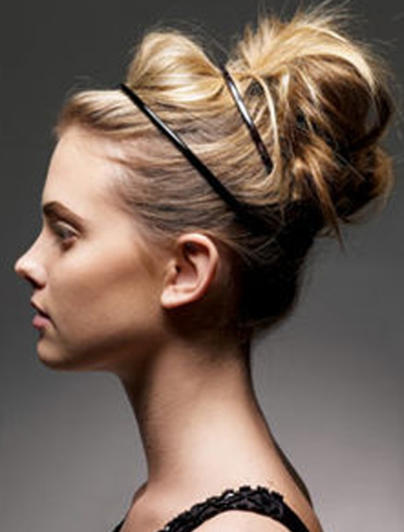 Messy Buns For Thin Hair – The Newest Hairstyles With Regard To Messy Updo Hairstyles For Thin Hair (View 11 of 15)