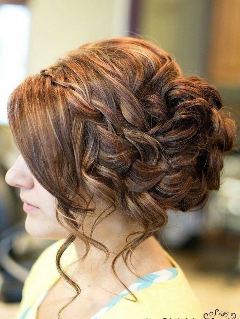 Photo Gallery Of Messy Updo Hairstyles For Prom Viewing 10 Of 15