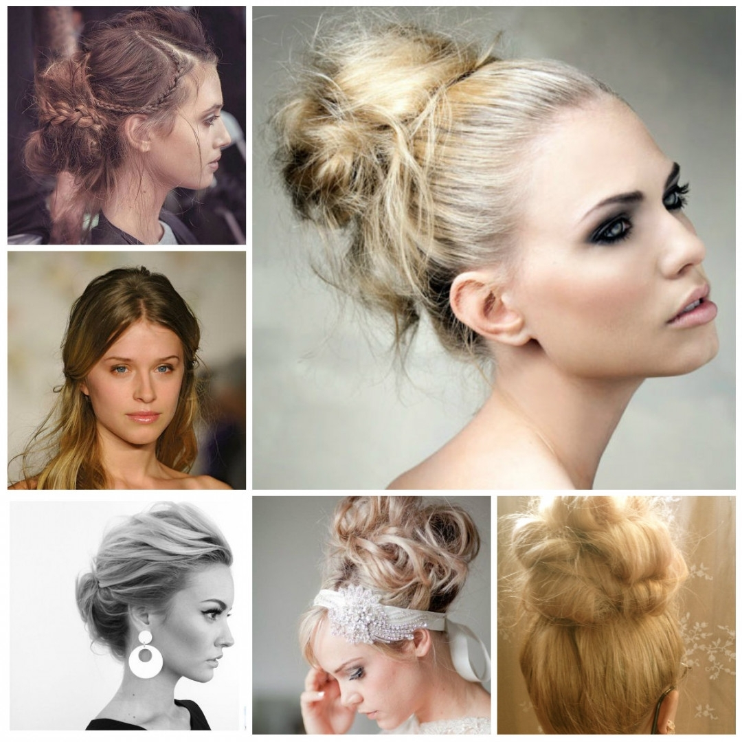 Messy Updo Hairstyles For 2017 | Hairstyles 2018 New Haircuts And Pertaining To New Updo Hairstyles (View 11 of 15)